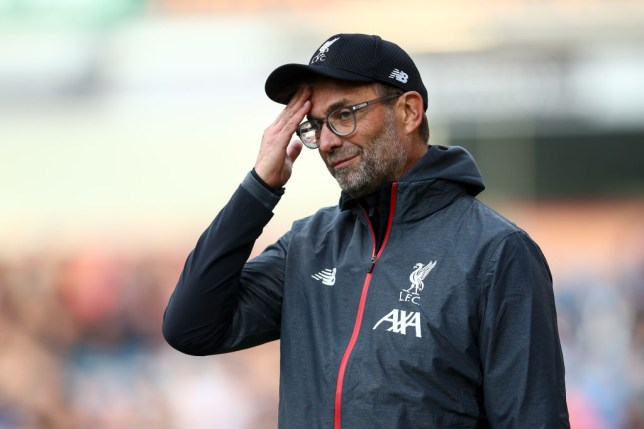 Jurgen Klopp couldn't believe the own goal decision