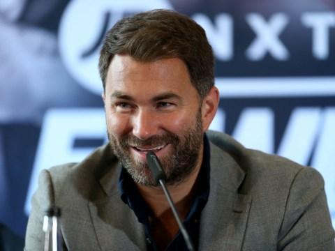 Eddie Hearn considers Wayne Rooney vs Rio Ferdinand and Michael Owen vs Alan Shearer charity fights