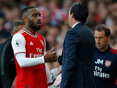 Unai Emery provides update on Alexandre Lacazette's injury after Arsenal's draw with Tottenham