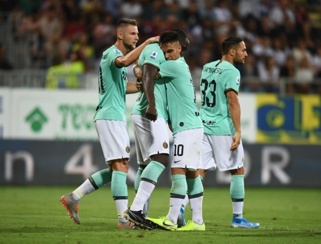 Romelu Lukaku suffered racist abuse during Inter Milan's victory over Cagliari
