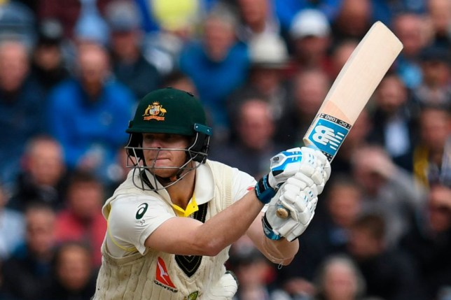 Steve Smith equalled a Test record as Australia pushed for victory in the fourth Ashes clash