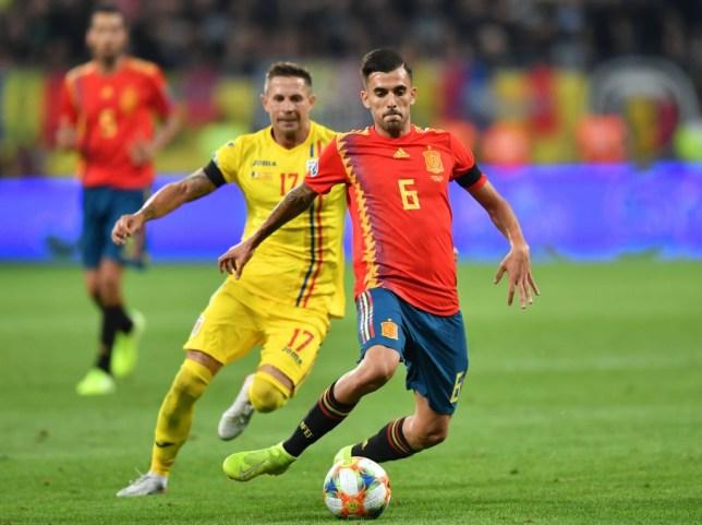 Arsenal star Dani Ceballos impressed in Spain's win over Romania on Thursday