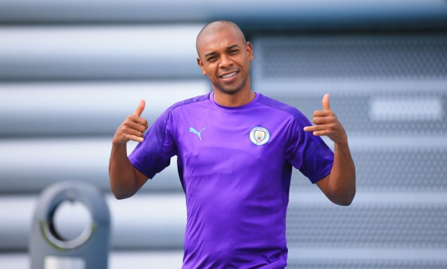 Man City's Fernandinho reveals he has been training to play at centre-back all season