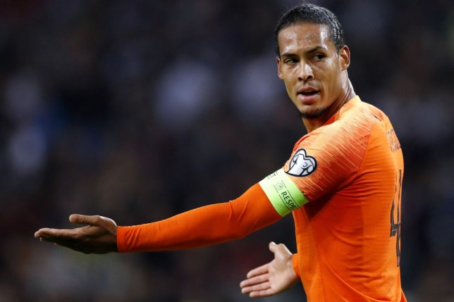 Virgil van Dijk is one of the frontrunners for the Ballon d'Or