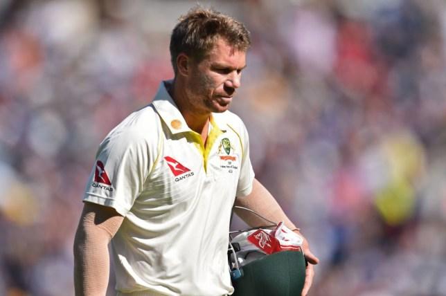Australia batsman David Warner has endured a barren run during the Ashes series