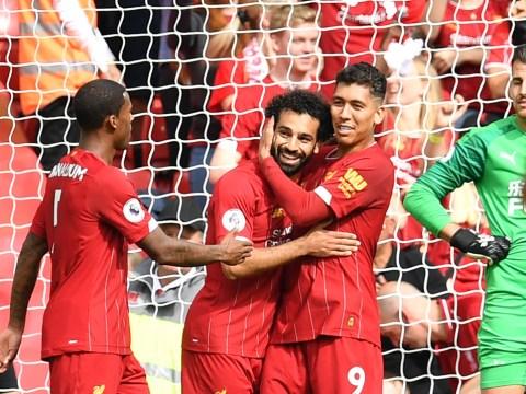 Andy Robertson praises 'frightening' Liverpool teammate Roberto Firmino