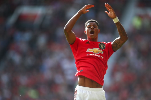 Brendan Rodgers insists 'cute' Marcus Rashford won 'soft' penalty for Manchester United