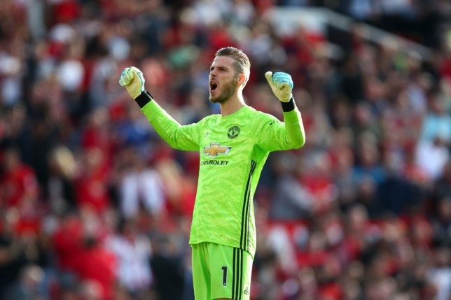 David De Gea has committed his future to Manchester United (Picture: Getty)