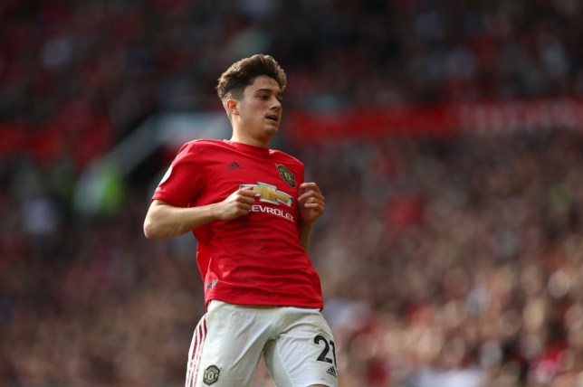 Man Utd star Daniel James has been nursing an ankle injury