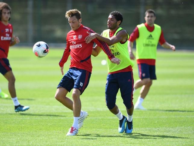Ozil told Mo Elneny to join Besiktas