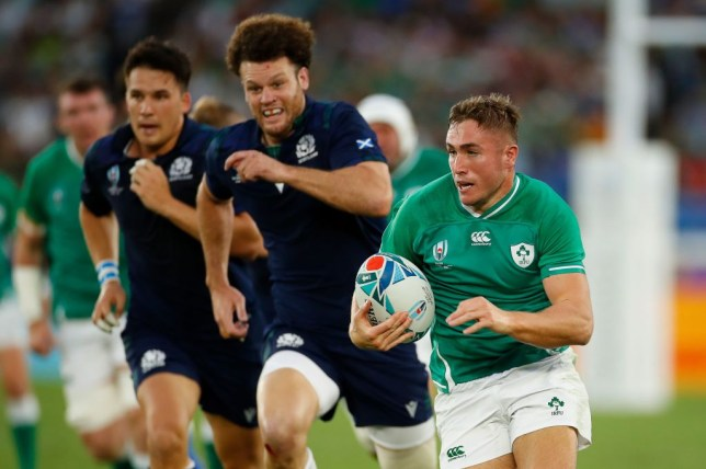 Ireland dominated Scotland in their opening 2019 Rugby World Cup encounter