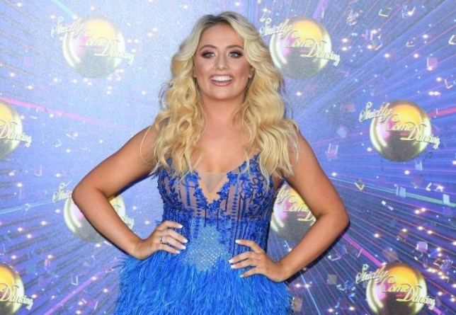 Saffron Barker at the Strictly Come Dancing launch 2019