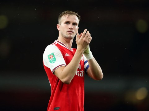 Unai Emery reserves special praise for 'perfect' Rob Holding after Arsenal beat Nottingham Forest