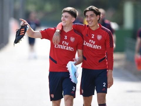 Arsenal provide Hector Bellerin and Kieran Tierney injury updates ahead of Watford clash