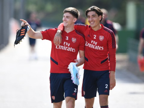 Unai Emery confirms Kieran Tierney and Hector Bellerin will miss Arsenal's clash with Watford