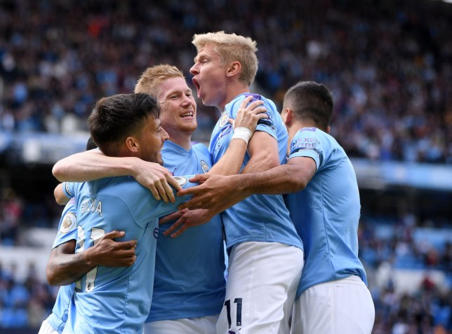 Manchester City are going for their third successive league title