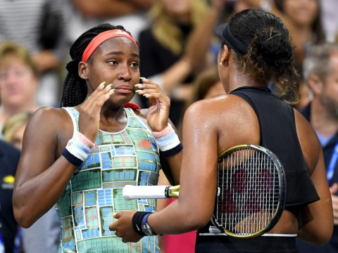 Naomi Osaka and Cori Gauff share emotional on-court interview together after US Open clash
