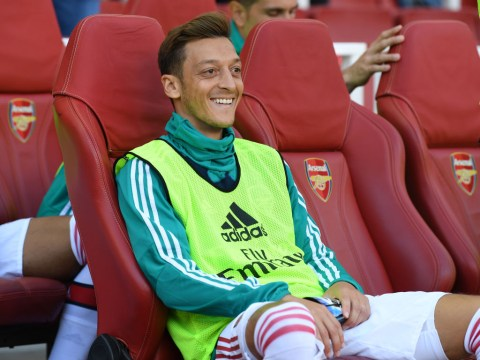 Mesut Ozil not included in Arsenal Europa League squad for Eintracht Frankfurt clash