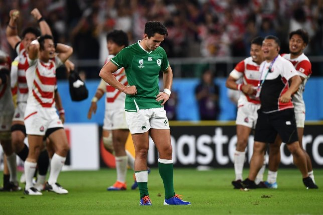 Joey Carbery was naturally disappointed to be on the wrong side of the result - but made the right decision overall