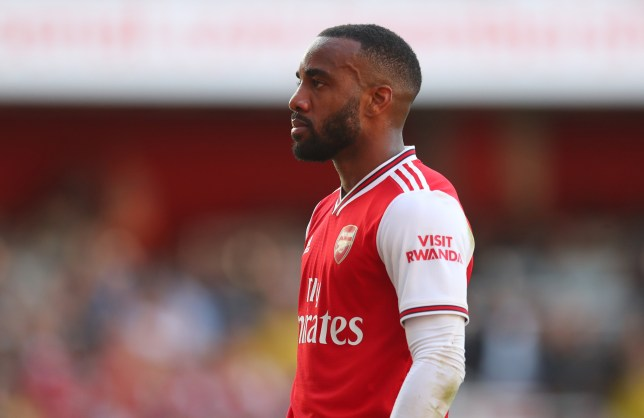 Alexandre Lacazette is desperate to be back in first-team action as soon as possible