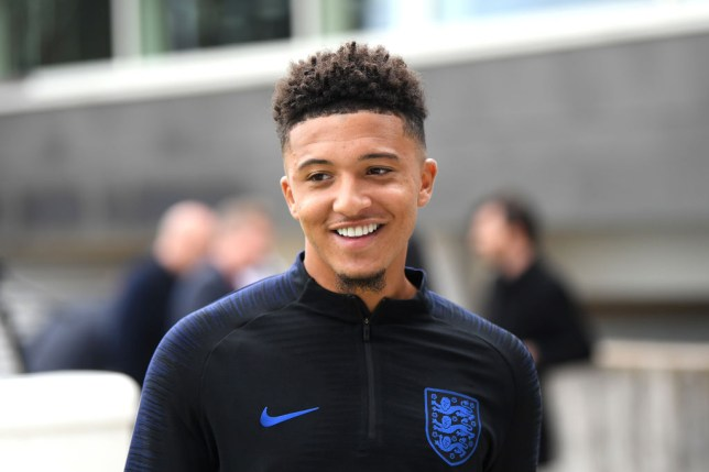 Jadon Sancho is happy at Dortmund - for now