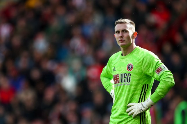 Dean Henderson's error cost Sheffield United the chance to end Liverpool's 100 per cent record