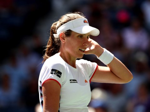 Johanna Konta WTA finals hopes dashed after knee issue forces her out of Beijing