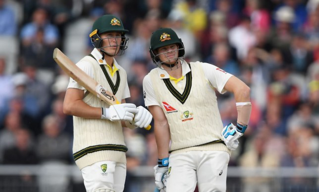 Marnus Labuschagne and Steve Smith batted Australia into a commanding position on day one of the fourth Ashes Test