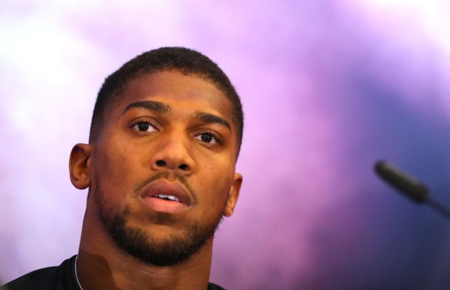 Anthony Joshua has been with Rob McCracken since his amateur days