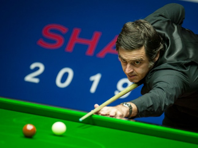Ronnie O'Sullivan beat Neil Robertson in the semi finals of the Shanghai Masters