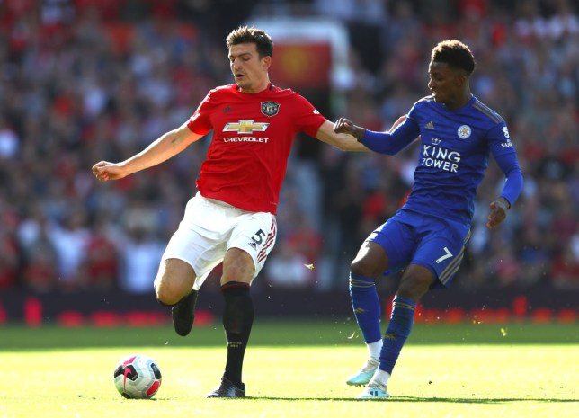 Manchester United boss Ole Gunnar Solskjaer was pleased with Harry Maguire's performance against Leicester in the Premier League