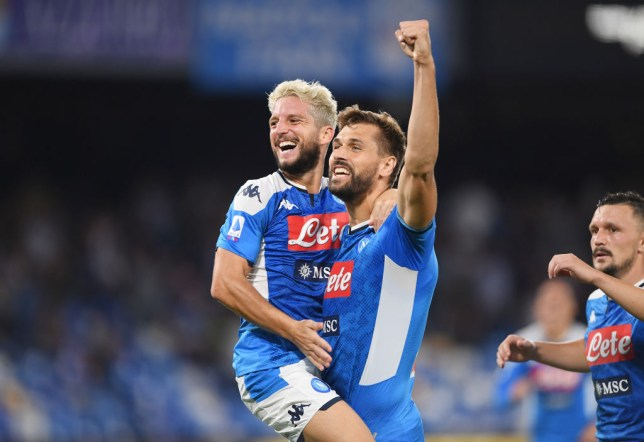 Image result for dries mertens vs liverpool 2019