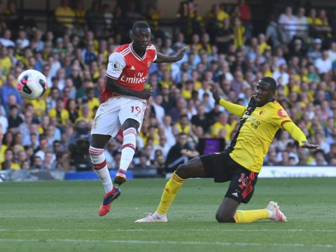 Charlie Nicholas slams Unai Emery's decision to stick with 'dreadful' Nicolas Pepe against Watford