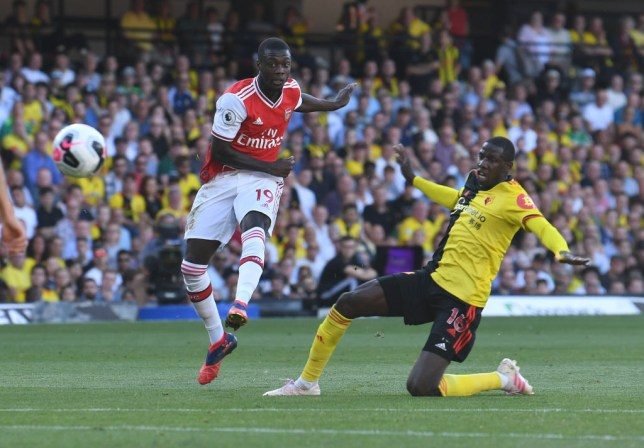 Nicolas Pepe had a 'dreadful' game against Watford, says Arsenal legend Charlie Nicholas