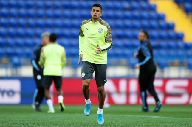 Joao Cancelo is set to make his full debut for Manchester City (Picture: Getty)