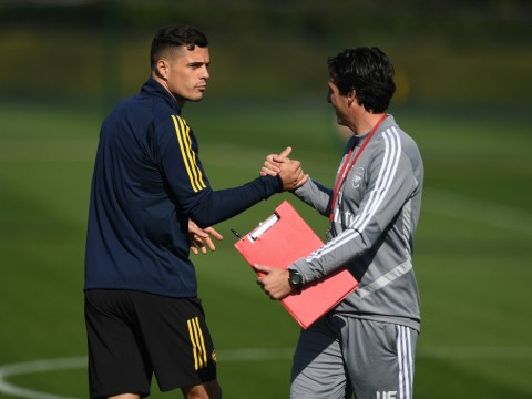 Unai Emery challenges Granit Xhaka after confirming his five Arsenal captains