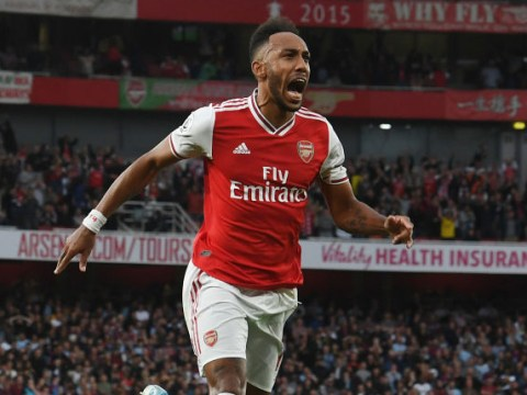 Glenn Hoddle singles out 'different class' Pierre-Emerick Aubameyang ahead of Arsenal's trip to Manchester United