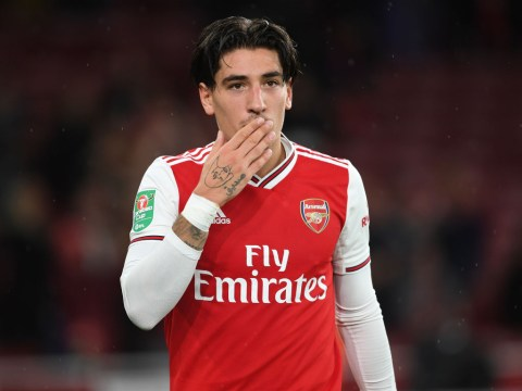 Unai Emery reveals conversation with Hector Bellerin before impressive cameo against Nottingham Forest