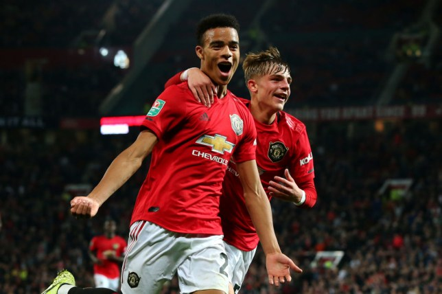 Mason Greenwood has scored two goals in two starts for Man Utd this season