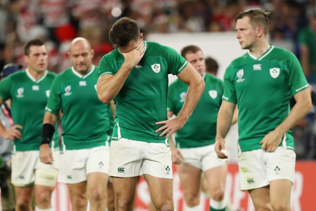 Ireland were left drained by a shock defeat to Japan