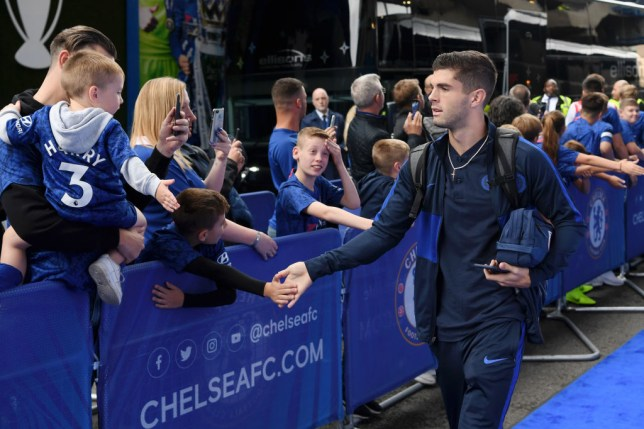 Image result for christian pulisic chelsea