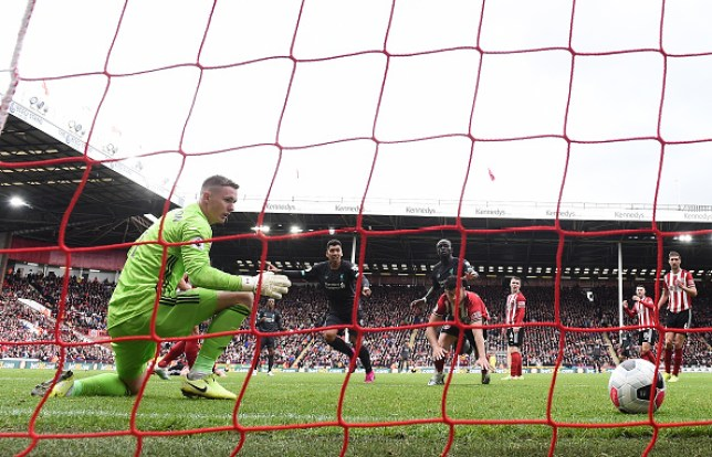 Dean Henderson's howler gifted Liverpool victory over Sheffield United