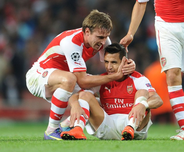 Nacho Monreal names Alexis Sanchez as the best he ever played with at Arsenal