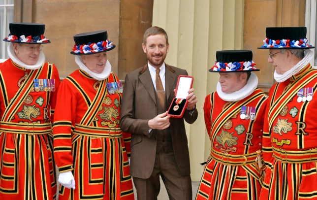 Bradley Wiggins smashed up his knighthood and SPOTY award and 'chucked them in flower bed'