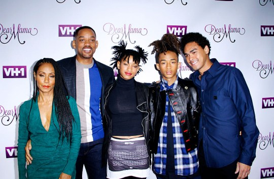 Image result for will smith family