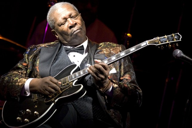 The King of Blues B.B. King pictured performing in 2006