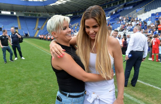 Kerry Katona and Katie Price