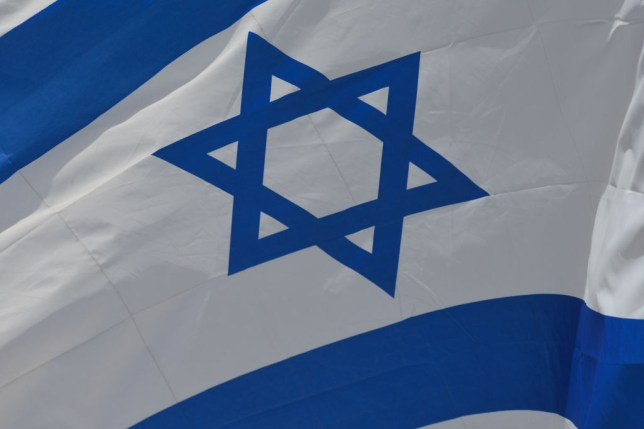 the star of david Jewish flag
