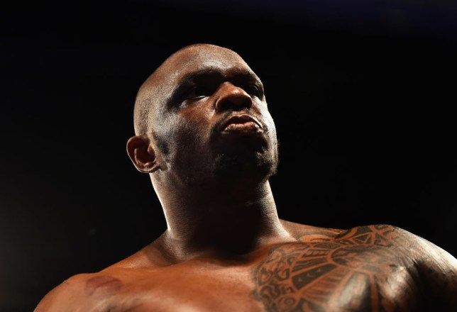 LONDON, ENGLAND - MARCH 24: Dillian Whyte looks on prior to the WBC Silver Heavyweight Championship contest against Lucas Browne at The O2 Arena on March 24, 2018 in London, England. (Photo by Dan Mullan/Getty Images)