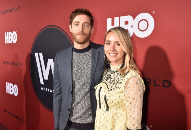 Thomas Middleditch and Mollie